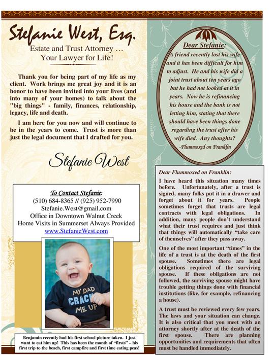 Stefanie-West-Newsletter-July-2014